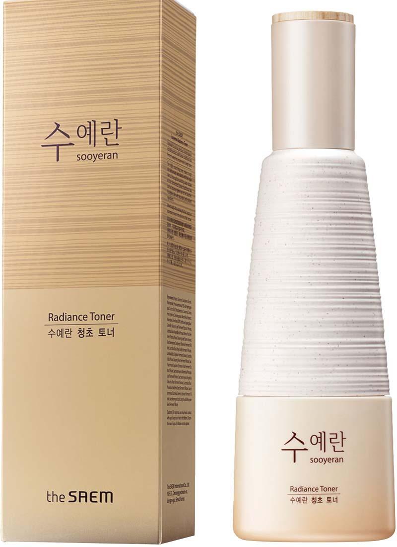 Эмульсия для сияющей кожи лица The Saem Sooyeran Radiance Emulsion 150 мл (8806164155646)