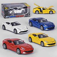 """Машинка 608 / 79655 W (96/2) """"Auto Expert""""4 цвета, инерция, свет, звук, открываются двери, в коробке"""