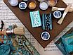 "Восковая краска-паста VINTAGE ""Turquoise Matte"", фото 5"