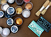 "Восковая краска-паста VINTAGE ""Turquoise Matte"", фото 6"