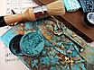 "Восковая краска-паста VINTAGE ""Turquoise Matte"", фото 8"