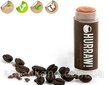 100 % натуральный бальзам для губ Hurraw Coffee Bean Кофейные зерна