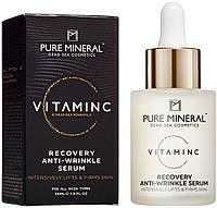 Сиворотка для обличчя проти зморшок з вітаміном С Pure Mineral