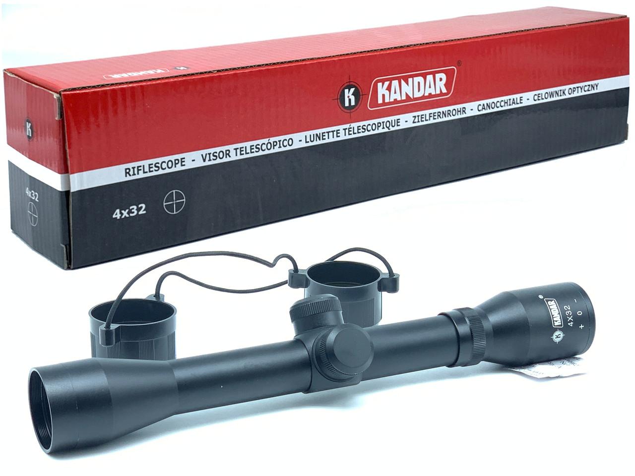 Оптичний приціл Kandar 4х32 Mil-Dot Польща