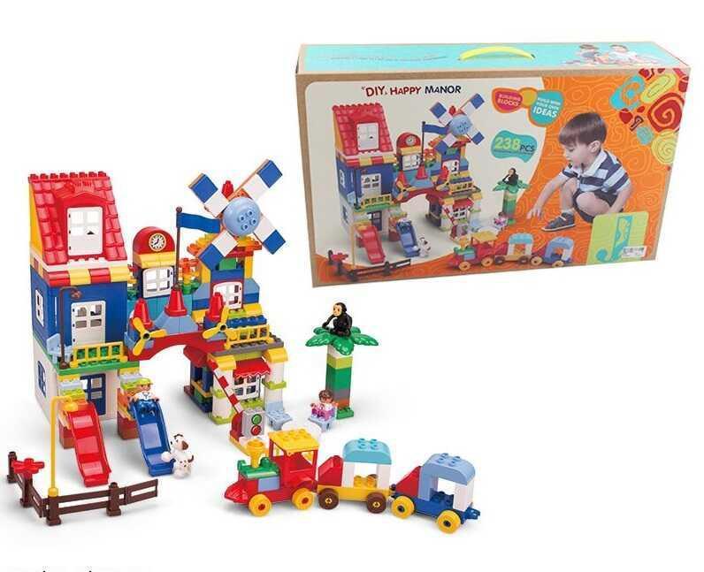 Конструктор 8388 С (8) 238 деталей, в коробке