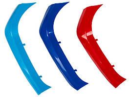 BMW 1 F20 / F21 15-18 накладка для передней решетки (ноздри) M-пакет 3 шт. комплектект, арт. DA-21240