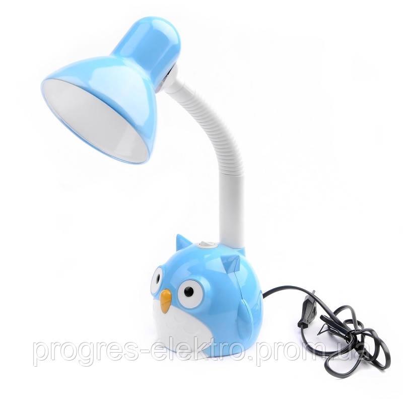 Настольная лампа на гибкой ножке для детской TP-016 E27 BL