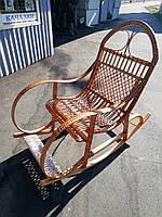 Кресло качалка из лозы