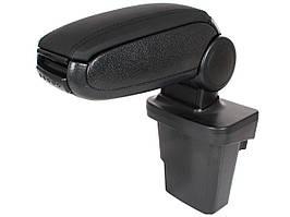Ford Focus III Mk3 2011- подлокотник комплектект черная искусственная кожа + монтажный комплектект, арт.