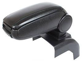 Ford Focus Mk2 04-11 подлокотник комплектект черная искусственная кожа + монтажный комплектект, арт. DA-14891