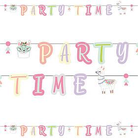 """Гірлянда стиль """"Лама"""", англ, Гирлянда """"Party Time"""""""