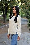 Стильная женская кофта с разрезами по бокам, фото 4