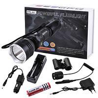 Подствольный фонарь Police  Q2810-T6, с выносной кнопкой, ЗУ 220V/12V, 1х18650, Box