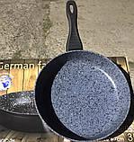 Сковорода German Family з гранітним покриттям і кришкою 28*5.7 см, фото 3
