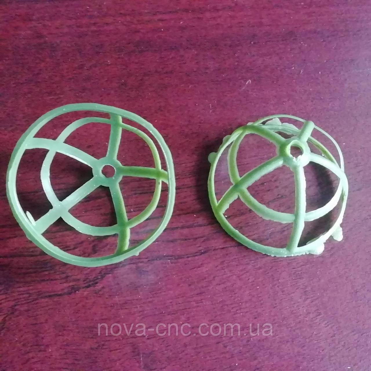 Основа для цветка Диаметр 3,5 см Упаковка 25 шт Цвет зеленый
