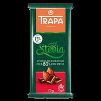 Шоколад Трапа темный без сахара DIA 75г 80%