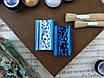 """Восковая краска-паста VINTAGE """"Dark blue pearl"""", фото 3"""