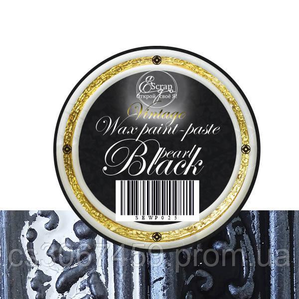 """Восковая краска-паста VINTAGE """"Black pearl"""""""