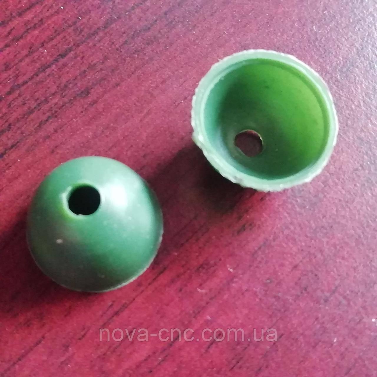 Сдерживающая серединка для цветка Диаметр 1,6 см Упаковка 25 шт Цвет зеленый