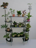 Стеллажи полки стойки-оборудование цветочных магазинов