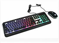 Клавиатура Led Gaming Keyboard и мышь HK3970