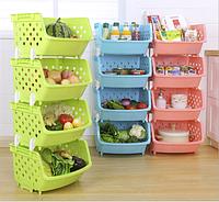Корзина-органайзер для хранения овощей и фруктов