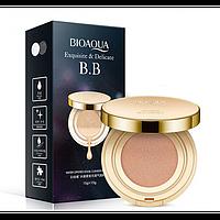 Кушон BIOAQUA Exquisite & Delicate BB Cushion Cream 15 г + 15 г тон 1