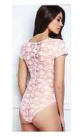 Боди Dolce vita, цвет бледно-розовый