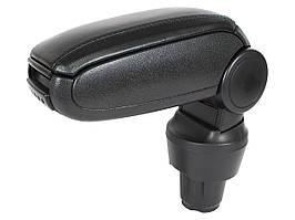Seat Mii 2011- подлокотник комплектект черная искусственная кожа + монтажный комплектект, арт. DA-18819