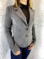 Пиджак женский 6075 серый М