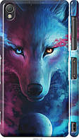 "Чехол на Sony Xperia Z3 D6603 Арт-волк ""3999c-58-21792"""