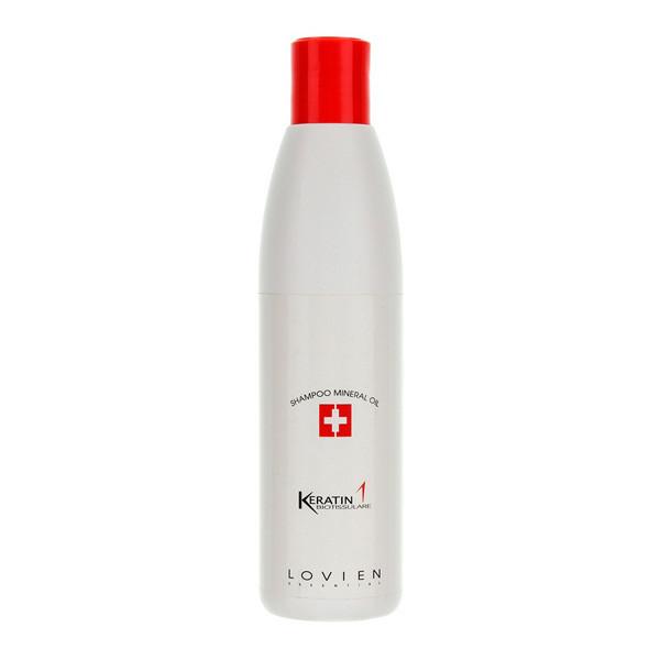 Шампунь для волос с минеральным маслом Lovien Essential Keratin 1 Shampoo Mineral Oil 300 мл