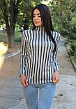 Гольф в полоску с длинным рукавом, фото 4