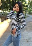 Гольф в полоску с длинным рукавом, фото 5