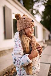 Комплект шапка и шарф детский