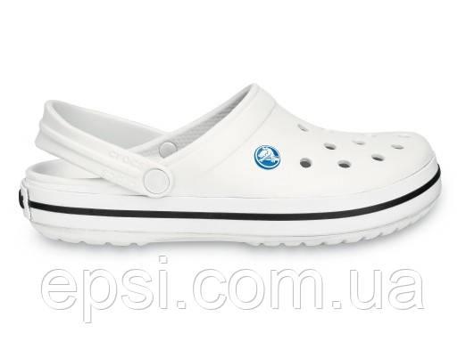 Сабо (кроксы) Crocs Crocband White (Белый) M7W9 39-40