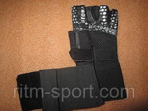 Перчатки спортивные с напульсником, фото 2