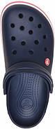 Сабо (кроксы) Crocs Crocband Navy ( Синий )  M7W9 39-40, фото 7