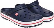 Сабо (кроксы) Crocs Crocband Navy ( Синий )  M7W9 39-40, фото 6