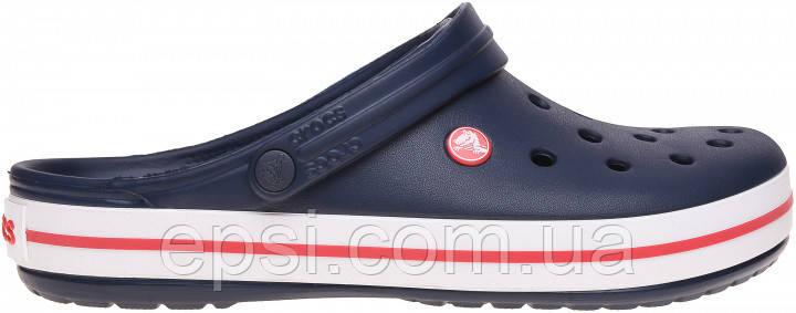 Сабо (кроксы) Crocs Crocband Navy ( Синий )  M9W11 42