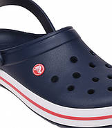 Сабо (кроксы) Crocs Crocband Navy ( Синий )  M9W11 42, фото 2