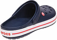 Сабо (кроксы) Crocs Crocband Navy ( Синий )  M9W11 42, фото 5