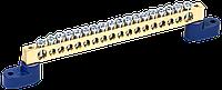"""Шина N """"ноль"""" на двух угловых изол ШНИ-8х12-18-У2-C IEK"""