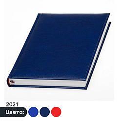 Ежедневник 'Небраска' 2021, Датированный, Белый блок, А5, под нанесение логотипа, Lediberg