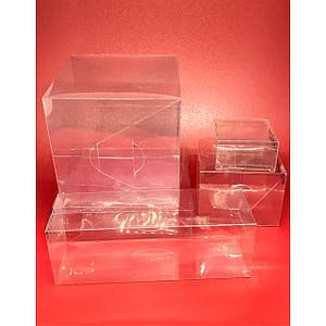 Подарочные коробки из полимерной пленки. 8х8х3см.200мкр