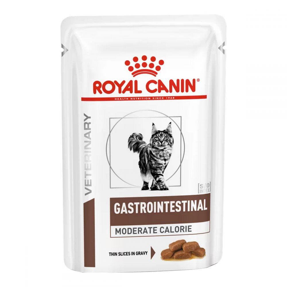Паучи Royal Canin Gastro Intestinal Moderate Calorie Feline 85г (в упаковке 12шт.)