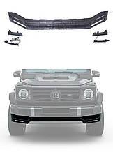 Brabus Widestar W463A W464 G500 G63 AMG Mercedes 2018+ губа юбка переднего бампера с ходовыми огнями LE
