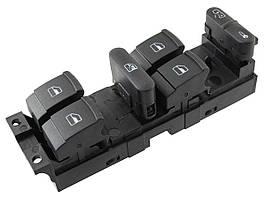 VW Sharan 1995 - блок управління склопідйомниками і блокування дверей 10 контактів, арт. DA-16830