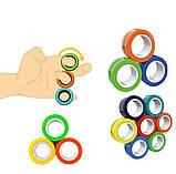 Магнитные кольца спинеры Зеленый, фото 2