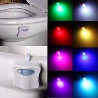 Подсветка для унитаза Light Bowl цветная (8 цветов с переключателем)